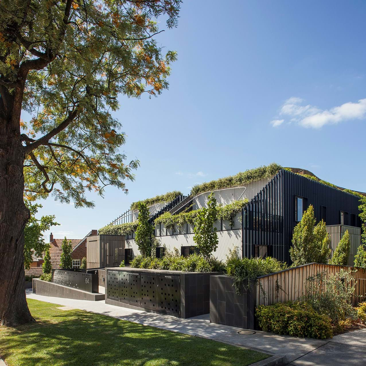 *Green Façade and Photography: Jakob / Tensile Design and Construct